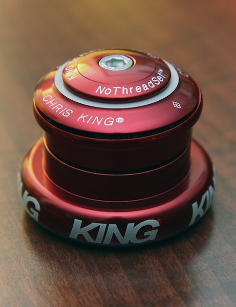 Chris King's new Mixed InSet headset allows users to install a tapered 1 1/8