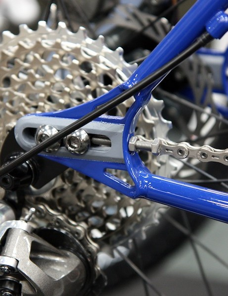 Sliding dropouts on Ritchey's new P-29er allow for either singlespeed or geared drivetrain setups