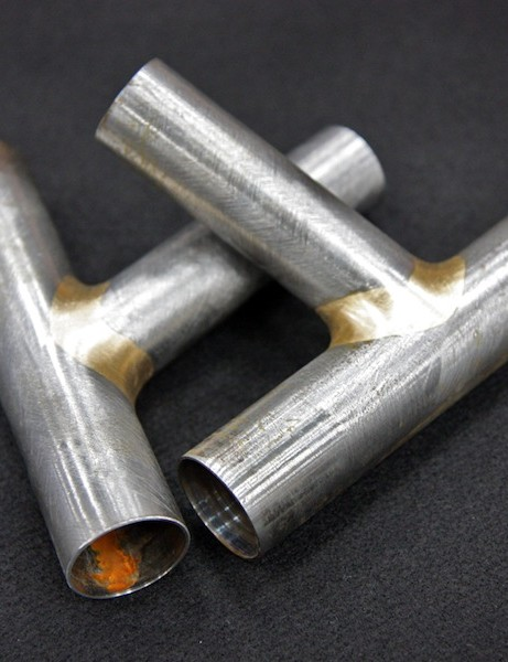 Tom Ritchey still does beautiful fillet brazing work but his new production frames will be TIG welded