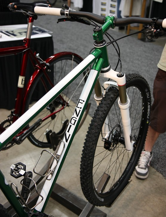 Engin Cycles' paint jobs are simple but striking.