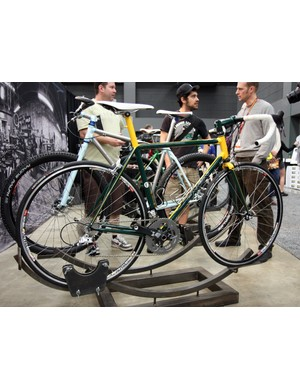 Engin Cycles also showed off this beautiful steel road racer.