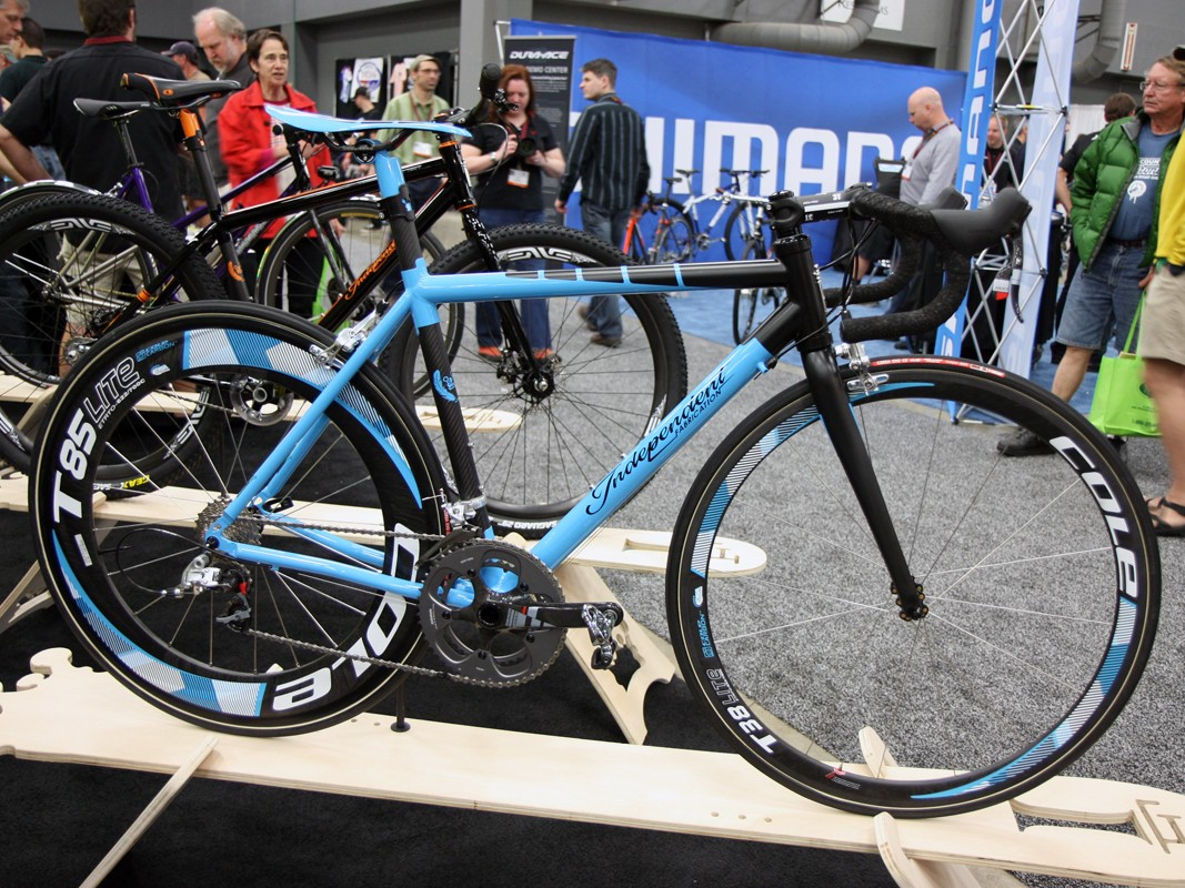 Do you want one?  Because we want one.  Behold Independent Fabrications' Factory Lightweight titanium and carbon road bike.