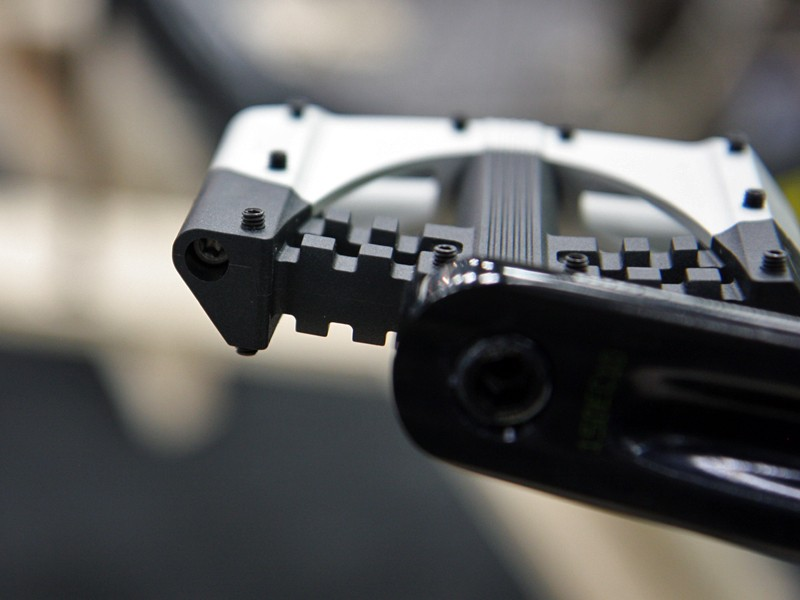 The new CrankBrothers 5050 pedals look to have a much thinner profile than the existing version