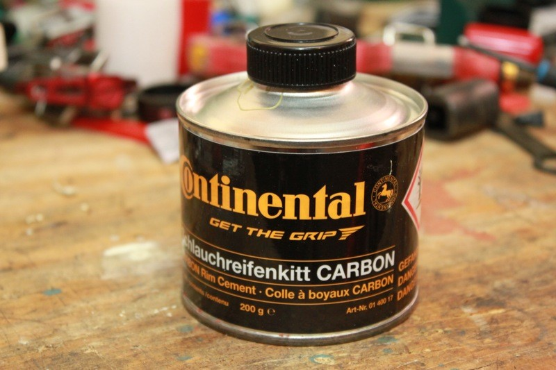 Continental's new Carbon Rim Cement