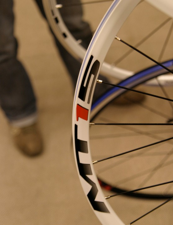Judging by Shimano's new wheels, white is the new black (although black rim options will also be available)