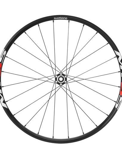 Shimano MT55 front wheel with E-thru hub
