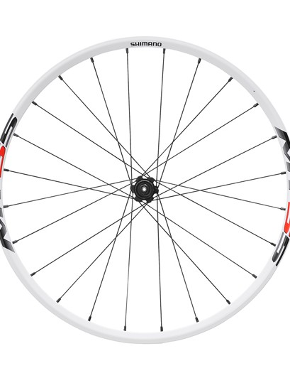 Shimano MT55 rear wheel (white)