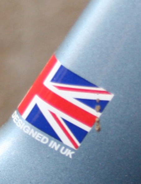 A bike not afraid to fly the British flag