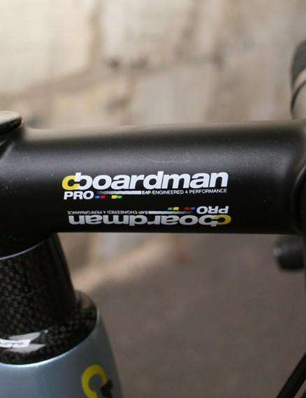 Boardman branded stem