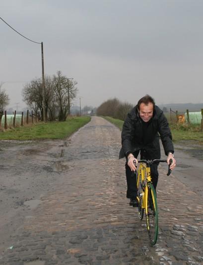 Gilbert Duclos-Lassalle gives BikeRadar an introduction to pavé