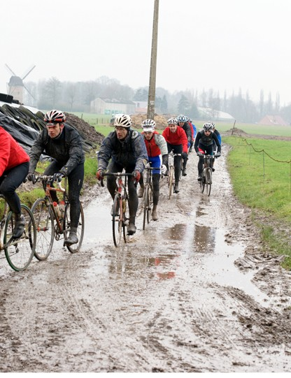 The 'Hell of the North' lived up to its reputation during reconnaissance into the Paris-Roubaix Challenge