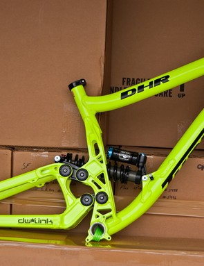 The new Turner DHR has hit UK shores and is available in this lurid neon yellow colour