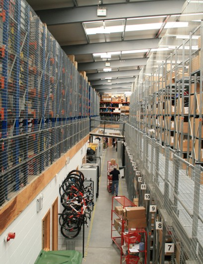 Ever ordered anything from Chain Reaction Cycles? This vast warehouse is where it was dispatched from