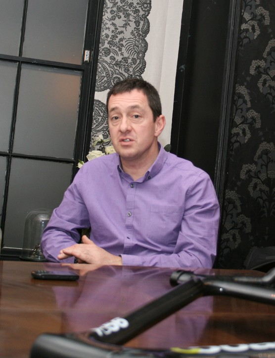 Chris Boardman is passionate about his bikes