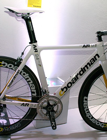 Boardman AiR/9.4 - the top aero road bike