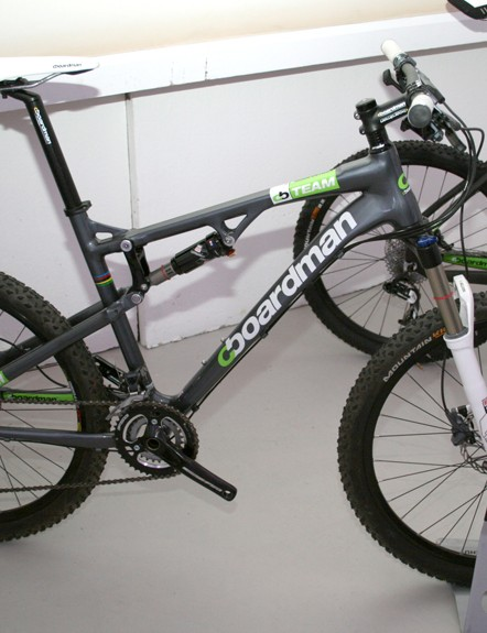 Boardman MTB Team FS- sub £1000 full suspension mountain bike