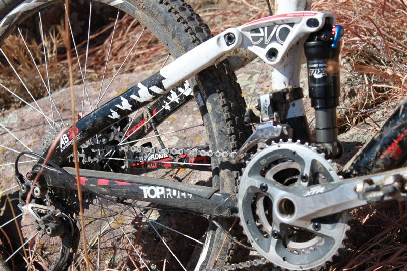 Top Fuel's ABP suspension system offers incredible downhill performance