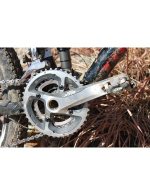 For cross-country racing, two-ring cranksets provide the best possible performance