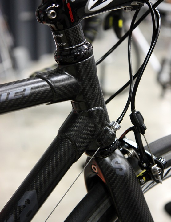 Despite the lugged construction, Serotta offer the MeiVici SE with custom geometry – within reason