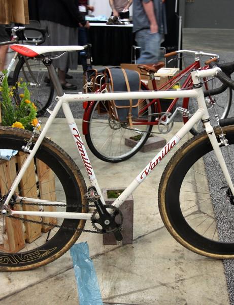 Speedvagen bikes are built in the Vanilla Workshop but true Vanilla bikes are built by Sacha White himself