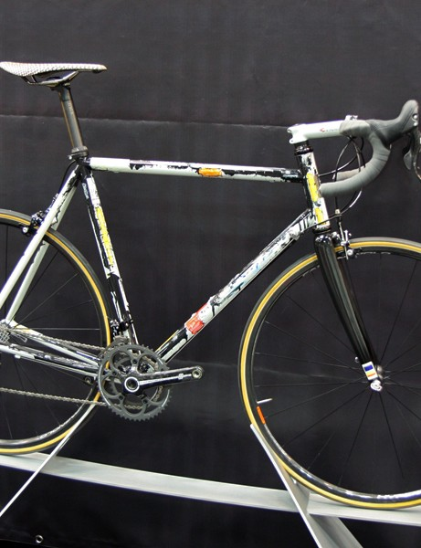 Pegoretti frames are notable for their performance but they're more easily recognizable by their wild paint schemes