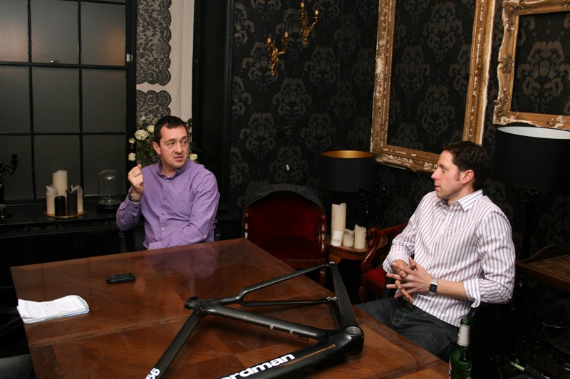 Chris Boardman and Andy Smallwood discuss their 2011 range