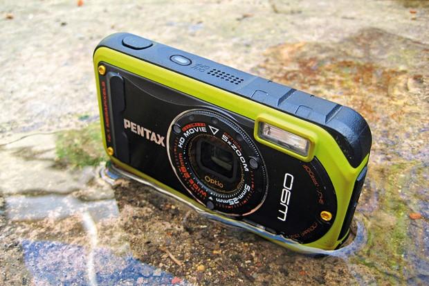 Pentax Optio W90 digital camera