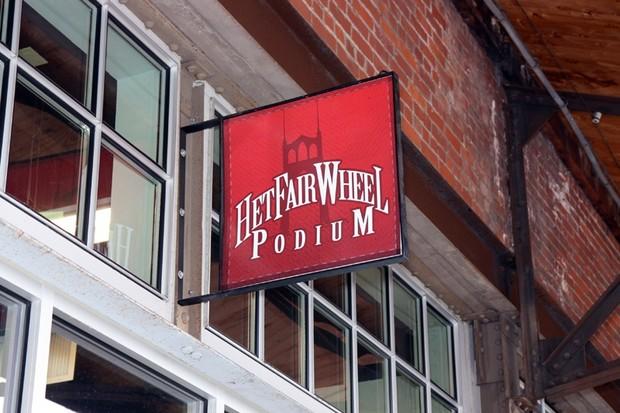 Het Fairwheel Podium is the Tucson, Arizona shop's foray into a unique gallery to showcase its wares