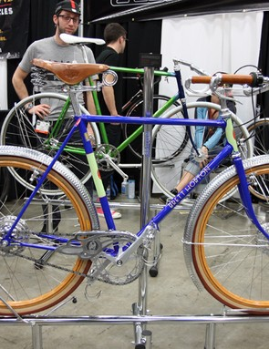 San Francisco bicycle collector Brett Horton commissioned this amazing bespoke town bike, with the frameset custom built by the folks at Bishop Bikes and nearly every other part fabricated as a one-off