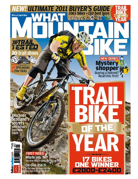 There's a full Trail Bike Of The Year feature in this month's issue of What Mountain Bike magazine