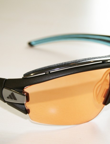 Adidas Halfrim Pro glasses - pictured here is the lighter conditions lens