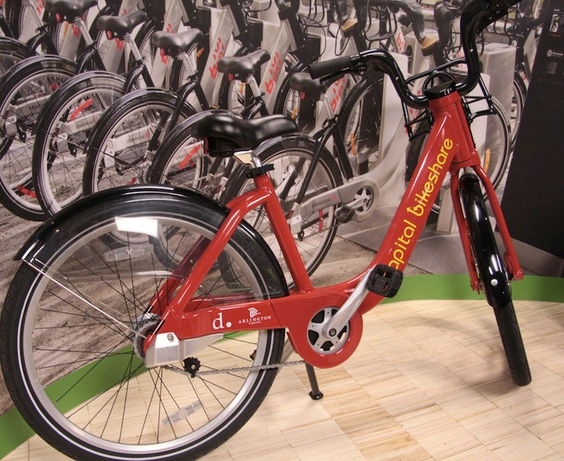 Public Bike System offers a greater range of colors and graphics than B-Cycle
