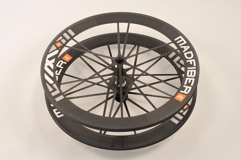 Mad Fiber's tubular road wheelset