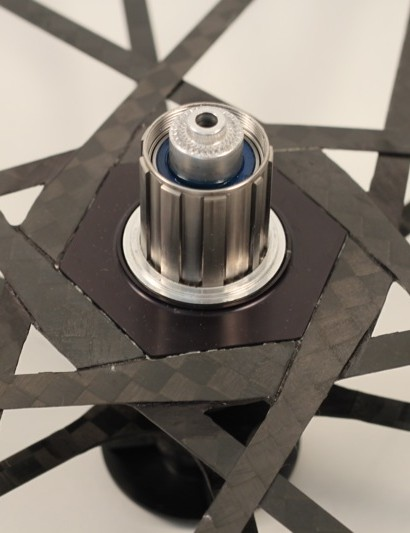 The White Industries titanium freehub body