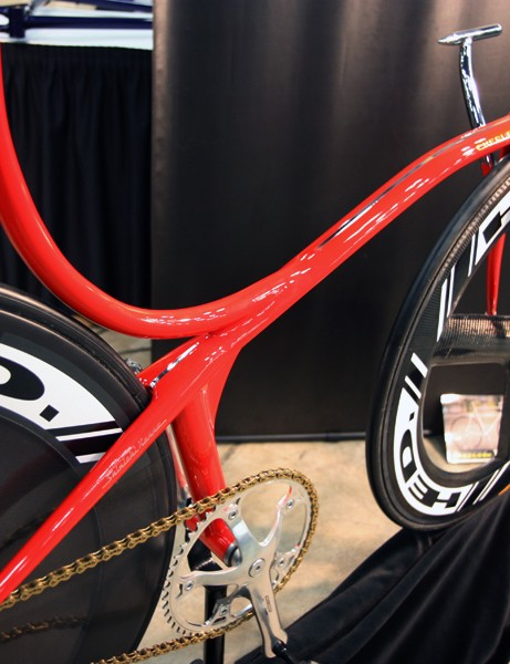 Is it a down tube or is it a top tube? Yes, according to Cherubim's wild track machine