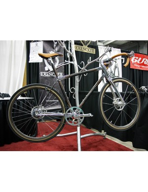 Phanuel Krencker says his gleaming Bicyclettes de Luxe was created with the concept of luxury in mind.