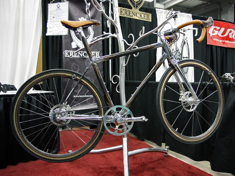 """Phanuel Krencker says his gleaming Bicyclettes de Luxe was created with the concept of luxury in mind. """"Price upon request"""" - meaning that if you have to ask…"""