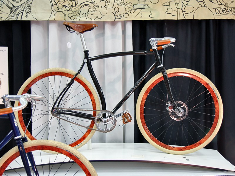 """Naked now offer the Baby Ganoush, a (somewhat) more affordable version of the bike that won the """"Best in Show"""", """"President's Choice"""" and """"People's Choice"""" awards at NAHBS 2008"""