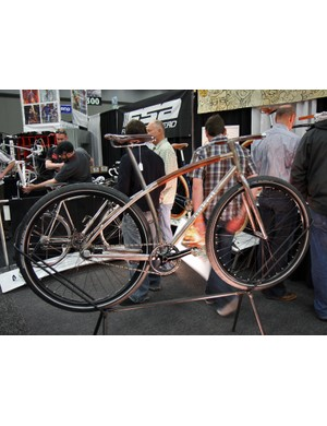 Sam Whittingham says the inspiration for this year's NAHBS showpiece was simplicity: