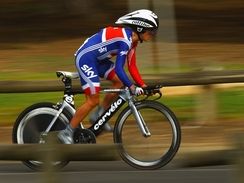Emma Pooley and the rest of Team GB will be going for gold in the Olympic time trial