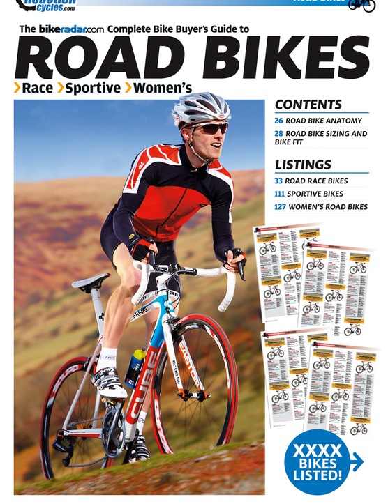 BikeRadar's Complete Bike Buyer's Guide contains details of 2,203 bikes, from £250 to £12,999