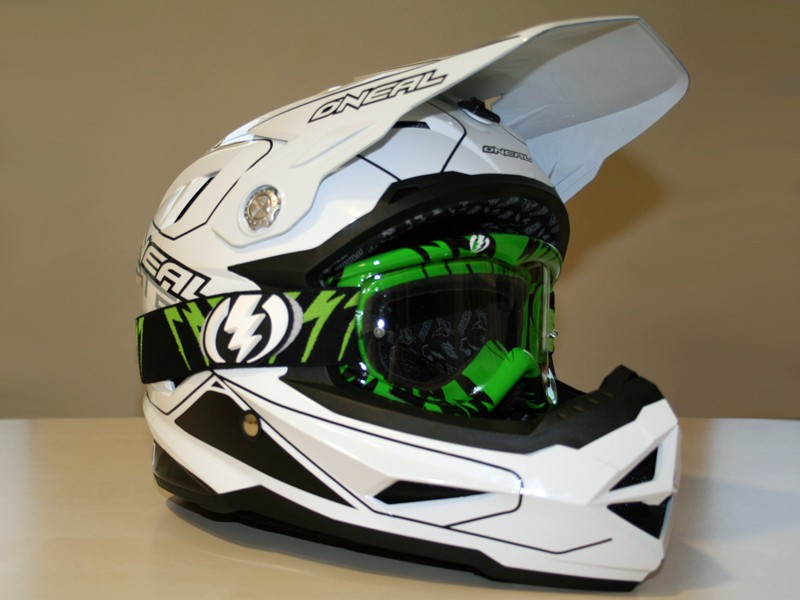O'Neal Airtech AT-1 helmet and Electric EG1 goggles