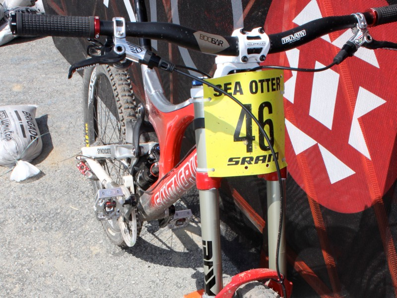 SRAM is a longtime sponsor of the Sea Otter Classic