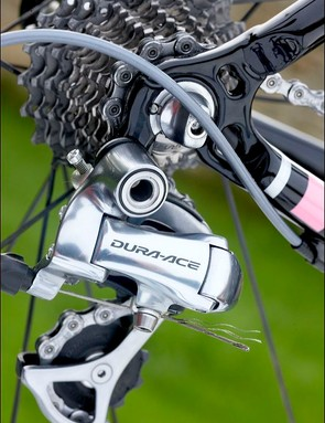 Shimano Dura-Ace components work superbly as ever