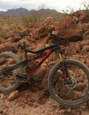 Desert riding is more fun on plus size tires