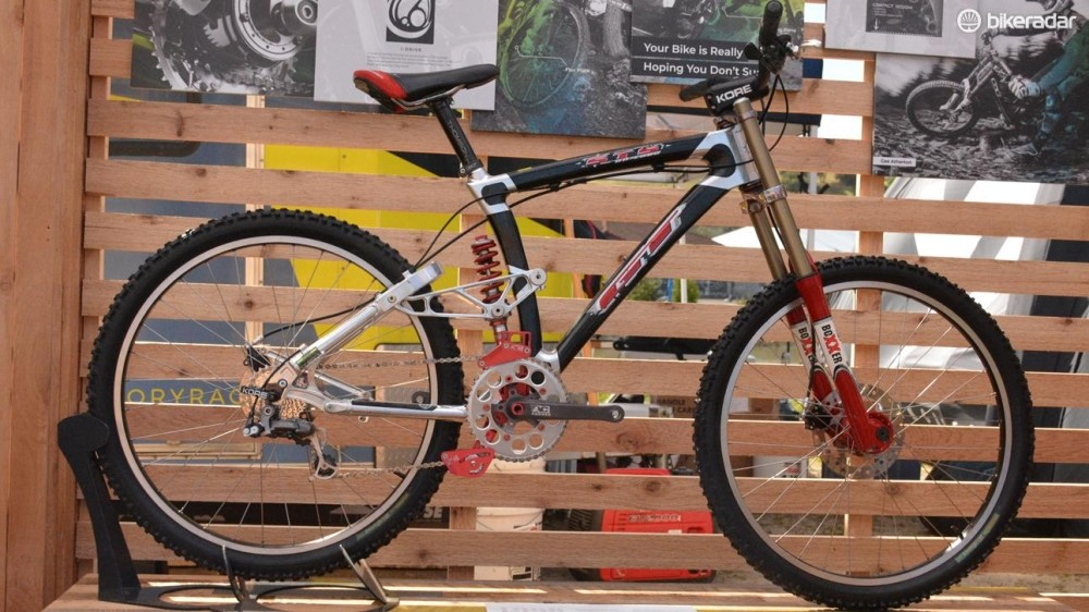 Carbon! The STS downhill bike was like a shapeship back in the day