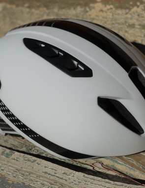 When the temperatures rose into the 90s ℉, Bontrager's Ballista MIPS got the nod. It kept things fairly aerodynamic but offered much better cooling than a full-time trial helmet.
