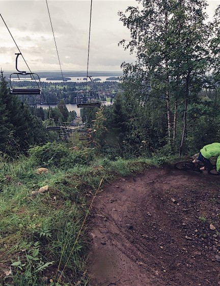 Thanks to Tahko and Laajavuori bike parks for allowing us to test bikes until the point of near exhaustion — it was a blast!