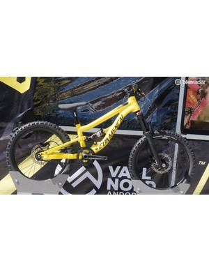 This diminutive Commencal is the ideal whip for the little ripper in your life