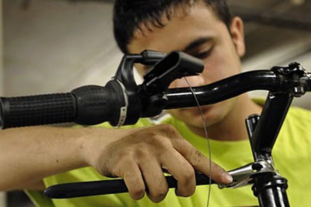Repairing bikes on a mass scale is key to the 2011 Team Green Britain Bike Week